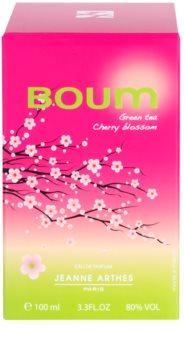 Jeanne Arthes Boum Green Tea Cherry Blossom parfémovaná voda pro ženy 100 ml