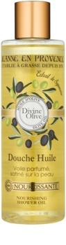 Jeanne en Provence Divine Olive ulei de dus cu efect de nutritiv