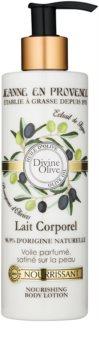 Jeanne en Provence Divine Olive leite corporal nutritivo  com azeite