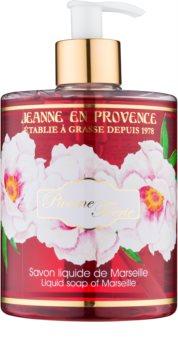 Jeanne en Provence Pivoine Féerie sabão liquido para mãos peónia