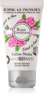 Jeanne en Provence Rose crema de maini hidratanta