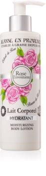 Jeanne en Provence Rose hydratační tělové mléko