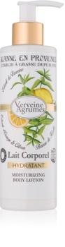 Jeanne en Provence Verveine Agrumes feuchtigkeitsspendende Body lotion