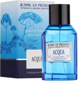 Jeanne en Provence Acqua Eau de Toilette für Herren 100 ml