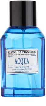 Jeanne en Provence Acqua eau de toilette pour homme 100 ml
