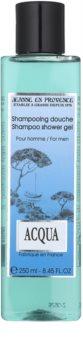 Jeanne en Provence Acqua sprchový gel pro muže 250 ml