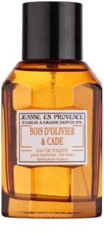 Jeanne en Provence Olive Wood & Juniper Eau de Toilette voor Mannen 100 ml