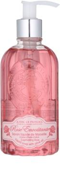 Jeanne en Provence Captivating Rose sabonete líquido com doseador