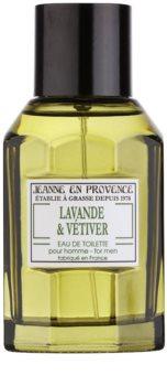 Jeanne en Provence Lavander & Vétiver Eau de Toilette for Men 100 ml