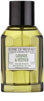 Jeanne en Provence Lavander & Vétiver toaletná voda pre mužov 100 ml