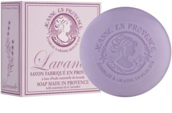 Jeanne en Provence Lavender sabonete francês luxuoso