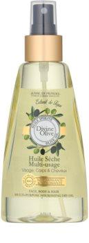 Jeanne en Provence Divine Olive suchý olej na tvár, telo a vlasy