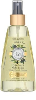 Jeanne en Provence Divine Olive ulei uscat pentru față, corp și păr