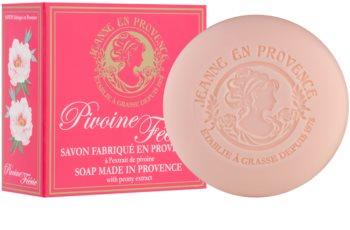 Jeanne en Provence Pivoine Féerie jabón perfumado para mujer 100 g