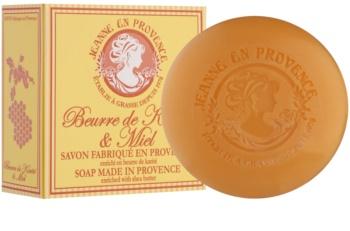Jeanne en Provence Shea Butter & Honey luxusní francouzské mýdlo