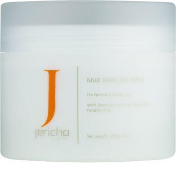 Jericho Hair Care iszap maszk hajra a zsíros és irritált fejbőrre