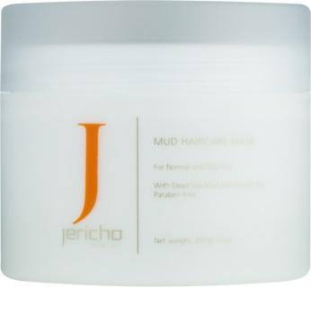 Jericho Hair Care грязьова маска для волосся для жирної і подразненої шкіри голови