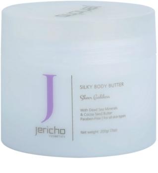 Jericho Body Care manteiga corporal  para pele fina e lisa