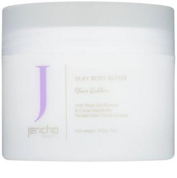 Jericho Body Care manteca corporal para dejar la piel suave y lisa