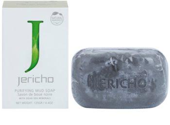 Jericho Body Care мило з чорною гряззю
