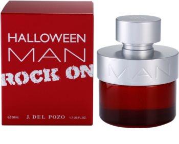 Jesus Del Pozo Halloween Man Rock On Eau de Toilette voor Mannen 50 ml