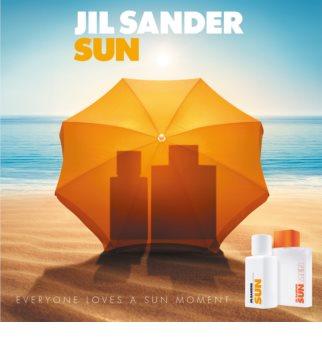 Jil Sander Sun for Men Eau de Toillete για άνδρες 75 μλ