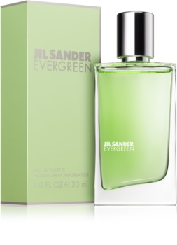 Jil Sander Evergreen eau de toilette per donna 30 ml