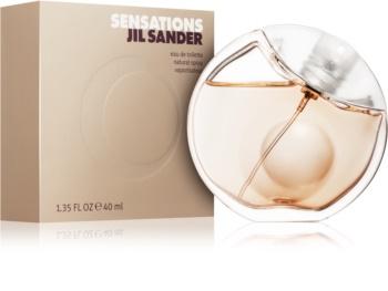 Jil Sander Sensations eau de toilette para mulheres 40 ml