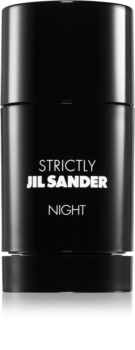 Jil Sander Strictly Night desodorizante em stick para homens 75 ml
