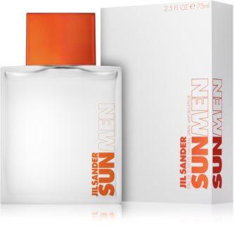 Jil Sander Sun for Men eau de toilette pentru barbati 75 ml