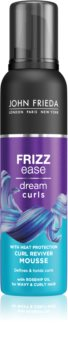 John Frieda Frizz Ease Dream Curls Mousse For Volume From Roots