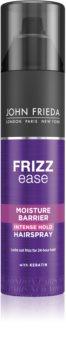 John Frieda Frizz Ease Moisture Barrier lak so silnou fixáciou pre vlnité vlasy a vlasy po trvalej
