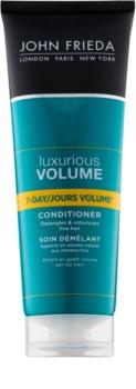 John Frieda Luxurious Volume 7-Day Volume balsam pentru păr fin cu efect de volum
