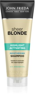 John Frieda Sheer Blonde Highlight Activating hydratačný šampón pre blond vlasy
