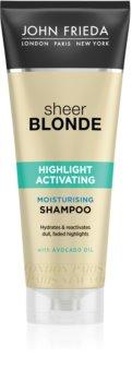 John Frieda Sheer Blonde Highlight Activating szampon nawilżający do włosów blond