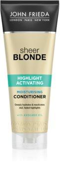 John Frieda Sheer Blonde Highlight Activating hidratáló kondicionáló szőke hajra