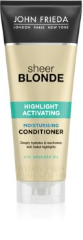 John Frieda Sheer Blonde Highlight Activating hydratační kondicionér pro blond vlasy