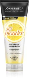 John Frieda Sheer Blonde Go Blonder posvetlitveni šampon za blond lase