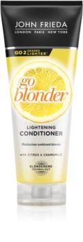 John Frieda Sheer Blonde Go Blonder zosvetľujúci kondicionér pre blond vlasy
