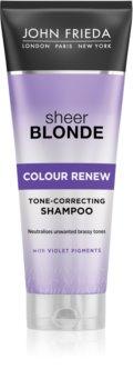 John Frieda Sheer Blonde Colour Renew šampon za toniranje za plavu kosu