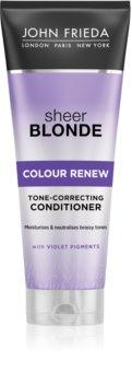 John Frieda Sheer Blonde Colour Renew soin démêlant correcteur couleur pour cheveux blonds