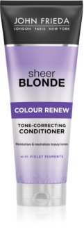 John Frieda Sheer Blonde Colour Renew Tone Correcting Conditioner for Blonde Hair