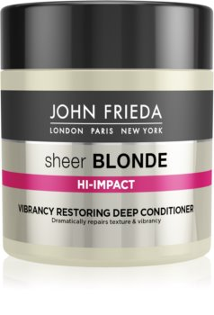 John Frieda Sheer Blonde Flawless Recovery Deeply Regenerating Conditioner For Blondes And Highlighted Hair