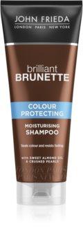 John Frieda Brilliant Brunette Colour Protecting Moisturizing Shampoo