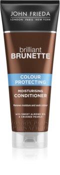 John Frieda Brilliant Brunette Colour Protecting après-shampoing hydratant