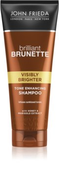 John Frieda Brilliant Brunette Visibly Brighter šampón pre lesk
