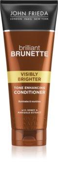 John Frieda Brilliant Brunette Visibly Brighter šampon pro lesk