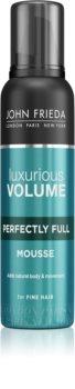 John Frieda Luxurious Volume Perfectly Full Styling Mousse