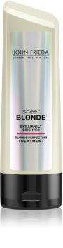 John Frieda Sheer Blonde Brilliantly Brighter bálsamo para cabelo loiro e com madeixas
