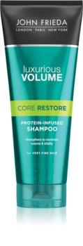 John Frieda Luxurious Volume Core Restore šampón pre objem jemných vlasov